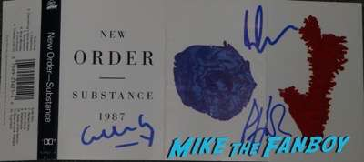 Peter Hook New Order signed autograph lp
