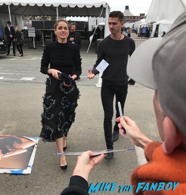 amanda Peet Edgar Ramirez signing autographs Spirit Awards Signing Autographs 2017 ruth nega orlando bloom 22