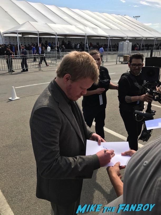 Jesse Plemons Edgar Ramirez signing autographs Spirit Awards Signing Autographs 2017 ruth nega orlando bloom 22