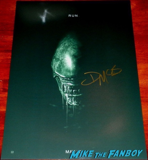 Danny McBride Signed Alien Covenant PSA