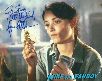 karen allen signed photo psa autograph
