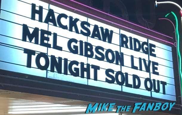 mel gibson hacksaw ridge q and a dissing fans 3