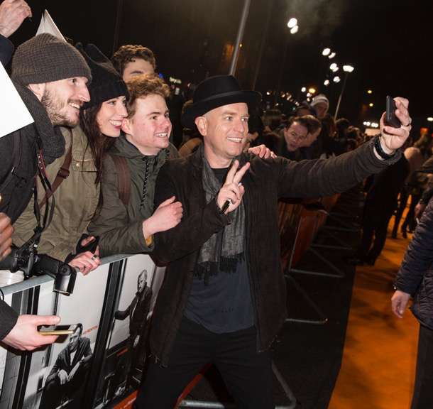 Edinburgh, Scotland. Cast and filmakers showed their support at the World Premiere of T2 Trainspotiing on January 22nd 2017.   Director Danny Boyle along with stars Ewan McGregor, Ewen Bremner, Jonny Lee Miller, Kelly MacDonald, Robert Carlyle and more were on hand for the premiere to the sequel to the cult classic.