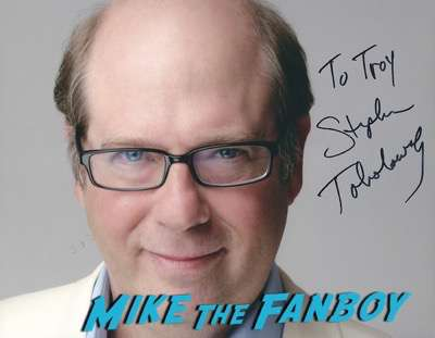 Stephen Tobolowsky signed autograph photo psa
