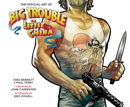 John Carpenter signed Big Trouble Book Boom Studios