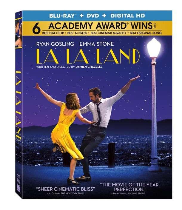 LA LA LAnd blu ray package