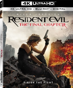 Resident Evil: The Final Chapter 4k cover