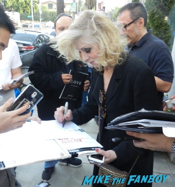 Judith Light signing autographs god looked away pasadena playhouse 13