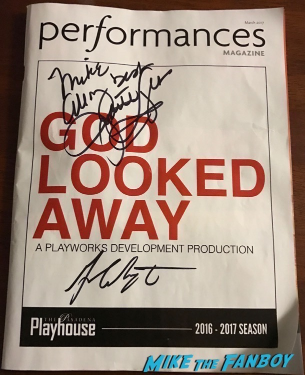 judith light signed god looked away program