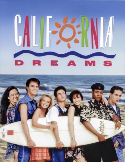 California Dreams cast photo poster hot rare 1