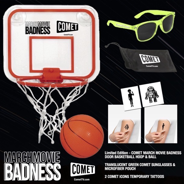 Comet TV March Movie Badness giveaway prize pack 2