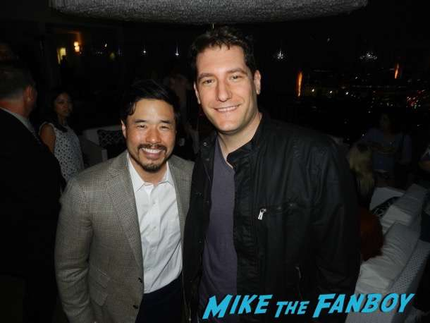 Randall Park meeting fans Fresh Off The Boat FYC Q and a 1
