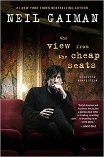 Neil Gaiman signed book