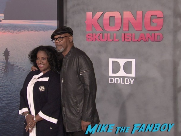 Kong: Skull Island took over Hollywood last night with the cast all out to support the famous giant ape.   Tom Hiddleston, Brie Larson, John Goodman, and Samuel L. Jackson were all on hand and we have a few photos from the premiere below!  Check them out!