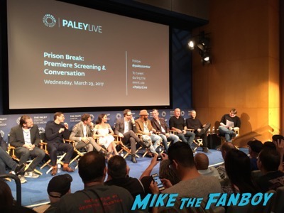Prison Break Paley Center Panel q an a 1