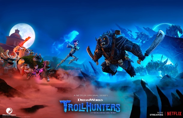 Wondercon Trollhunters lithograph