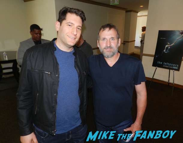 christopher Eccleston meeting fans The Leftovers FYC q and a meeting Justin Theroux 24