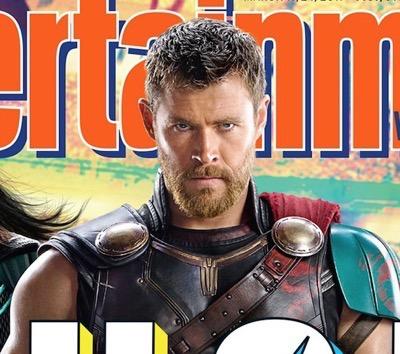 Thor: Ragnarok entertainment weekly first look 1