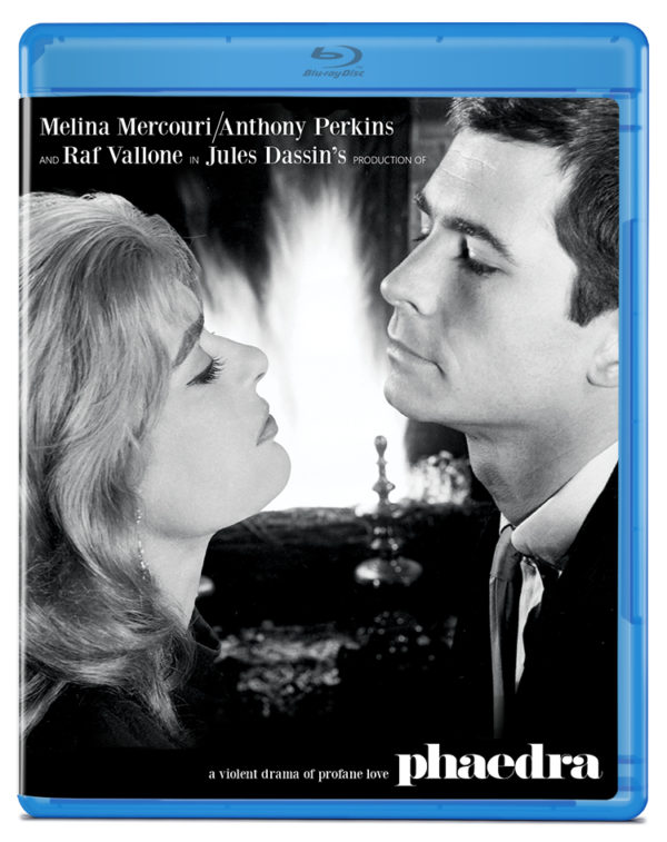 Phaedra (1962) blu ray cover