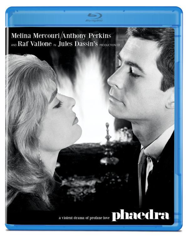 Phaedra (1962) blu ray cover