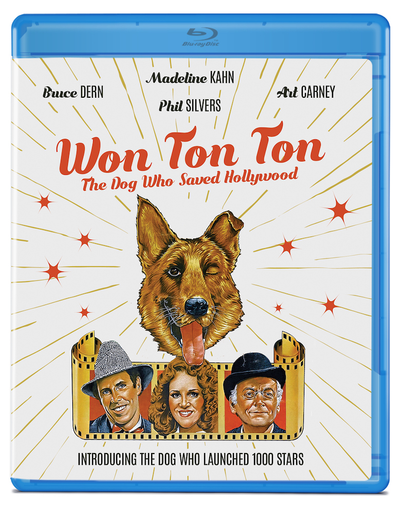 Won Ton Ton, The Dog Who Saved Hollywood (1976) blu ray cover