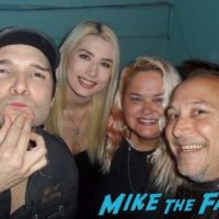 Corey Feldman and Keith coogan Corey Feldman concert tour flyer Corey's Angelic 2 the Core Mini Tour