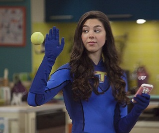 "TT_114 -- ""Thundersense"" -- Pictured: Phoebe (Kira Kosann) in THE THUNDERMANS on Nickelodeon. Photo by: Alice Hall/Nickelodeon ©2013 Viacom, International, Inc. All Rights Reserved"