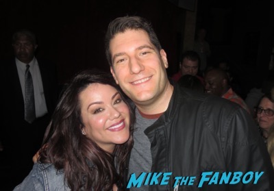 Katy Mixon  meeting fans American Housewife FYC