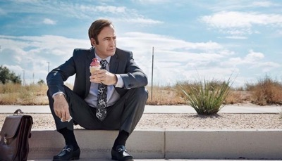 Bob Odenkirk as Jimmy McGill - Better Call Saul _ Season 3, Episode 1 - Photo Credit: Michele K. Short/AMC/Sony Pictures Television