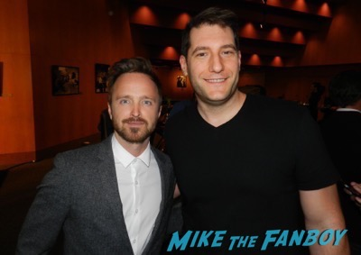 Aaron Paul meeting fans the mick the contenders event fyc 2017