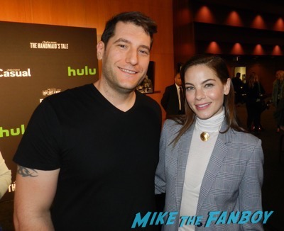 Michelle Monaghan meeting fans the mick the contenders event fyc 2017