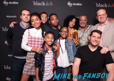 Blackish cast photo meeting fans contenders event 2017