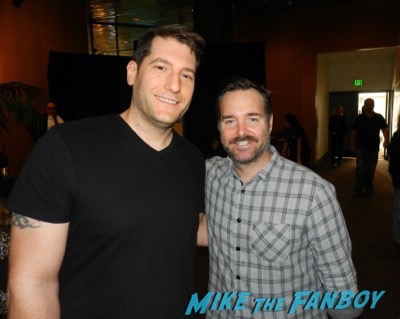 Will Forte meeting fans the mick the contenders event fyc 2017
