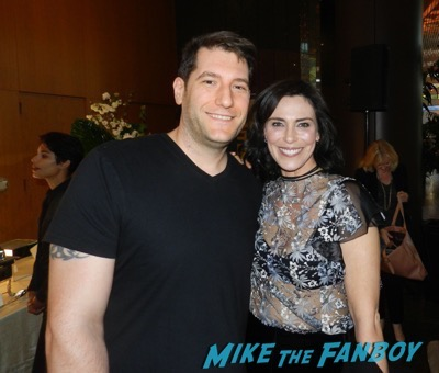 Michelle Forbes meeting fans the mick the contenders event fyc 2017