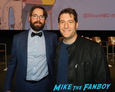martin starr meeting fans signing autographs Silicon Valley FYC q and a meeting fans