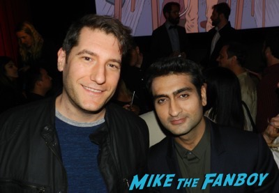 Kumail Nanjiani meeting fans signing autographs Silicon Valley FYC q and a meeting fans