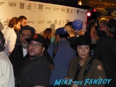 Dave Stewart Meeting Fans signing autographs PSA eurythmics 5