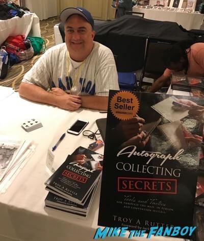 TTM Troy Rutter autograph collecting secrets book