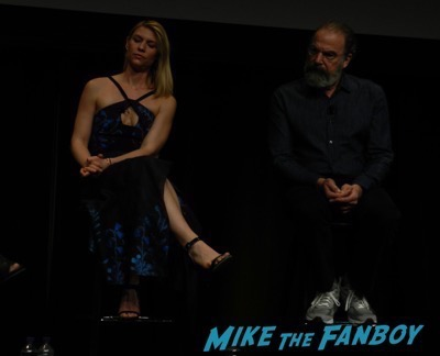 Homeland FYC panel claire danes dissing fans 6