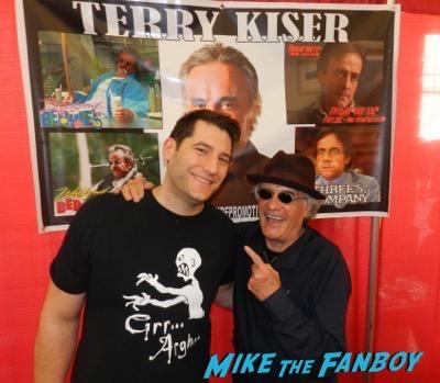 Terry Kiser fan photo meeting fans