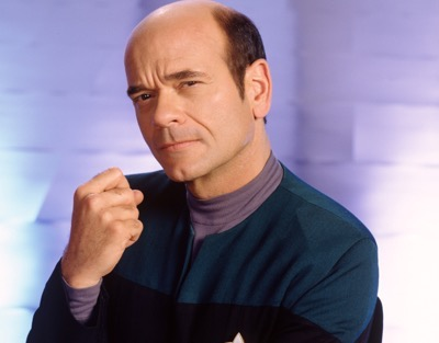 Robert Picardo signing for fans