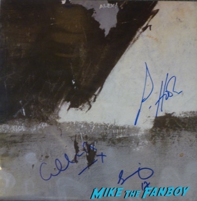 Bizarre Love Triangle signed autograph lp new order