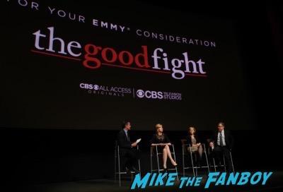 The Good Fight FYC event christine Baranski meeting fans 1