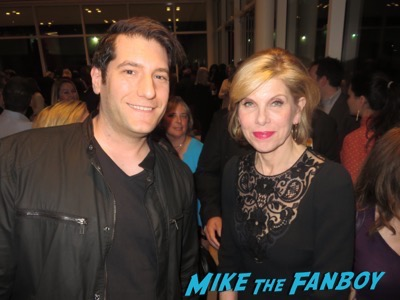 christine Baranski meeting fans the good fight fyc