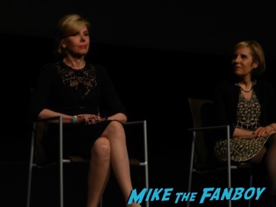 The Good Fight FYC event christine Baranski meeting fans 1