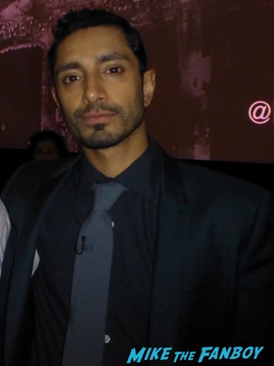 Riz Ahmed Joh selfie meeting fans The Night Of FYC Event meeting Riz Ahmed John Tuturro 1