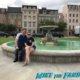 warner bros ranch friends fountain filming location blondie street