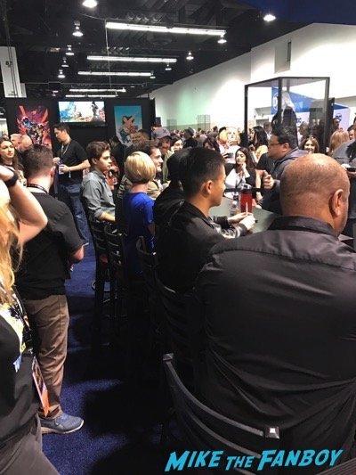 Wondercon teen titans go signing 2017
