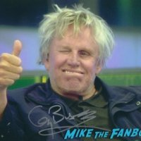 gary busey signed autograph