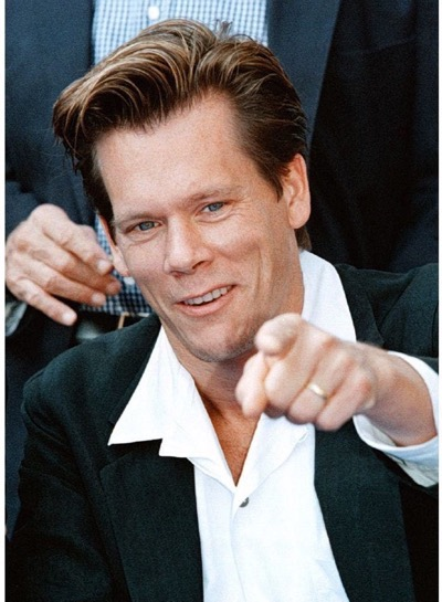 Kevin Bacon meeting fans